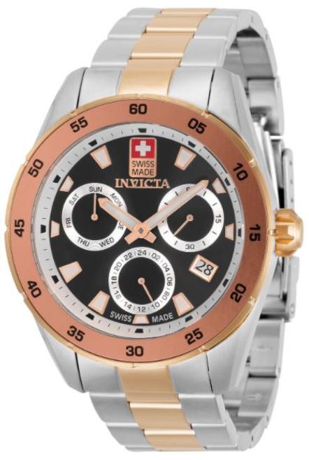Invicta Men's 33477 Pro Diver Quartz Chronograph Black Dial Watch