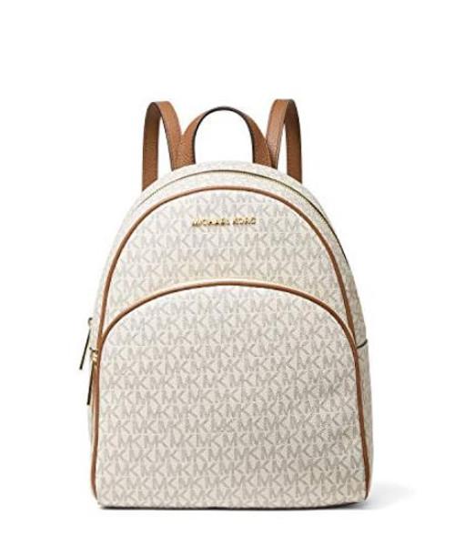 MICHAEL Michael Kors Abbey Fashion Backpack, Vanilla/Acorn …
