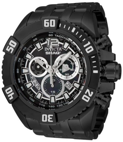 Invicta Men's 33770 SHAQ Quartz Multifunction Black, Black Dial Watch