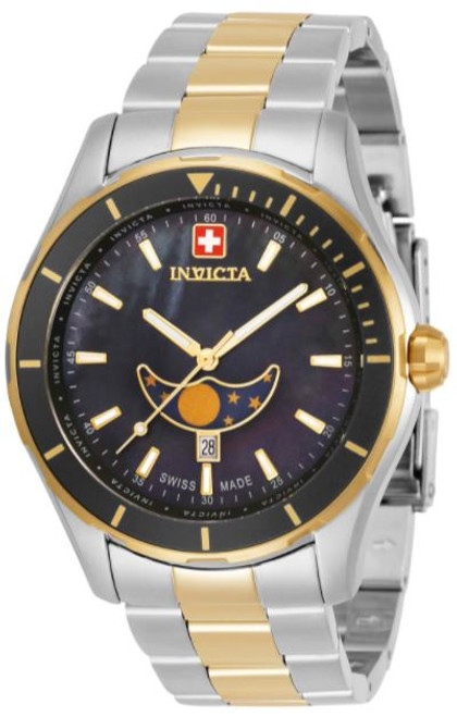 Invicta Men's 33466 Pro Diver Quartz Chronograph Black Dial Watch