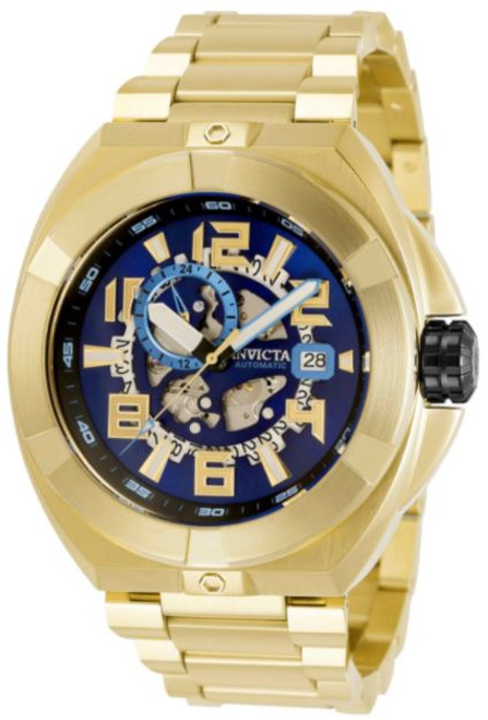 Invicta Men's 32709 Akula Automatic Multifunction Blue Dial Watch
