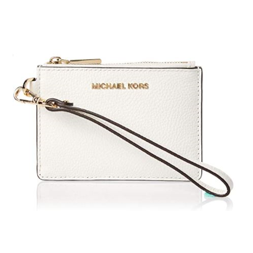 MICHAEL Michael Kors Mercer Small Coin Purse Optic White One Size …