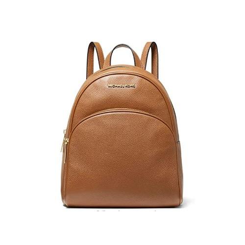 Michael Kors Abbey Medium Pebbled Leather Backpack - Luggage …