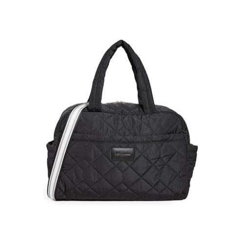 Marc Jacobs Quilted Nylon Large Bag, Black …