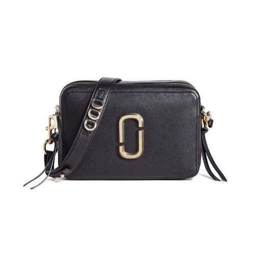 Marc Jacobs Women's The Softshot 27 Bag, Black, One Size …
