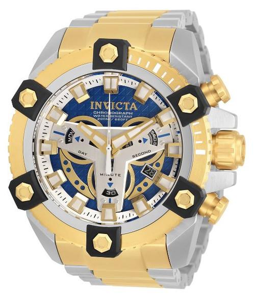 Invicta Men's 30905 Coalition Forces Quartz Multifunction Blue Dial Watch