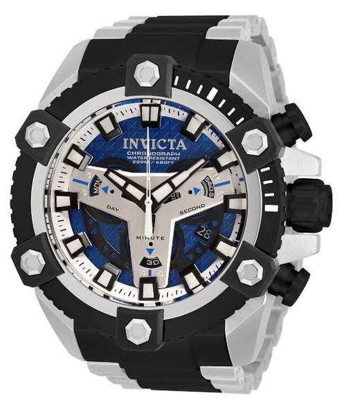 Invicta Men's 30906 Coalition Forces Quartz Multifunction Blue Dial Watch