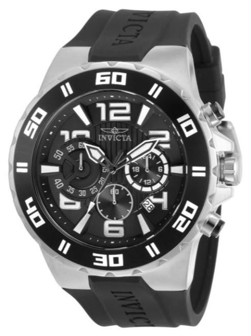 Invicta Men's 30936 Pro Diver Quartz Chronograph Black Dial Watch