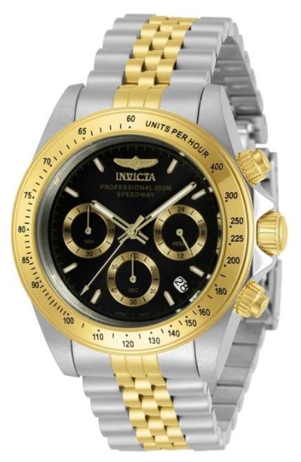 Invicta Men's 30992 Speedway Quartz Chronograph Black Dial Watch