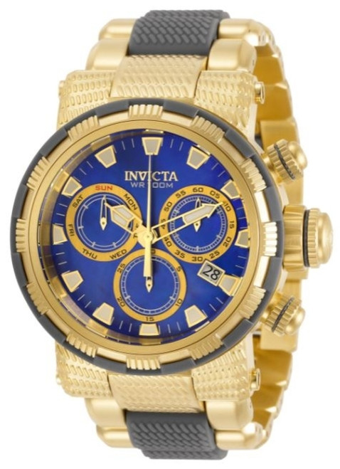 Invicta Men's 31184 Specialty Quartz Chronograph Blue Dial Watch