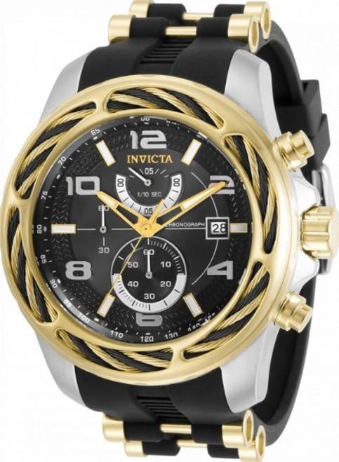 Invicta Men's 31236 Bolt Quartz Chronograph Black Dial Watch