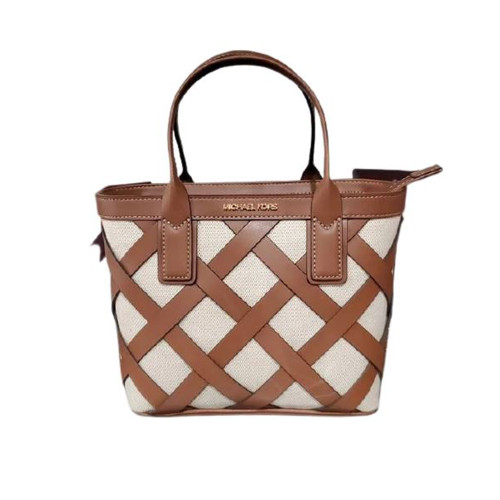 Michael Kors Sienna Small Tote Crossbody Bag Luggage