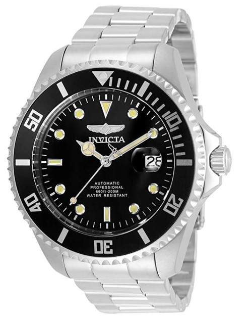 Invicta Men's Pro Diver 47mm Stainless Steel Automatic Watch, Silver (Model: 35717) …