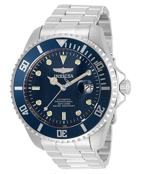 Invicta Men's Pro Diver 47mm Stainless Steel Automatic Watch, Silver (Model: 35721) …