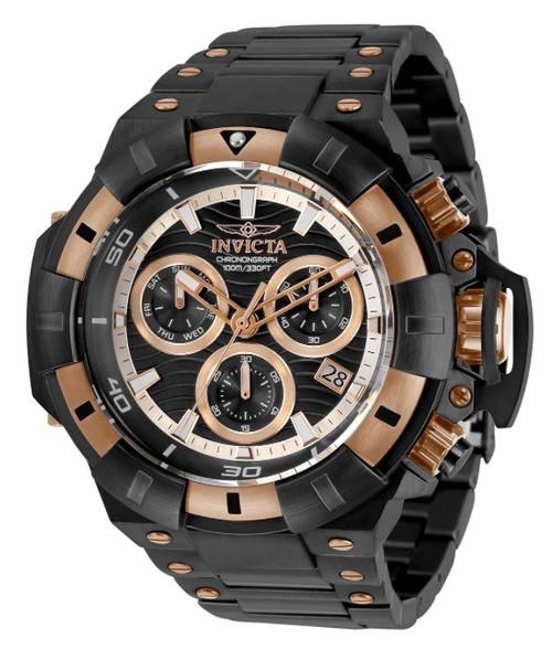 Invicta Men's 31871 Akula Quartz Chronograph Black Dial Watch