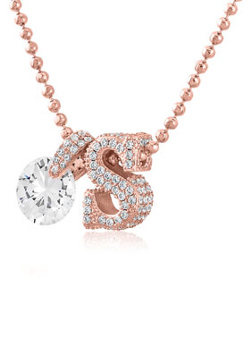 Not Your Boyfriend's Initial Necklace