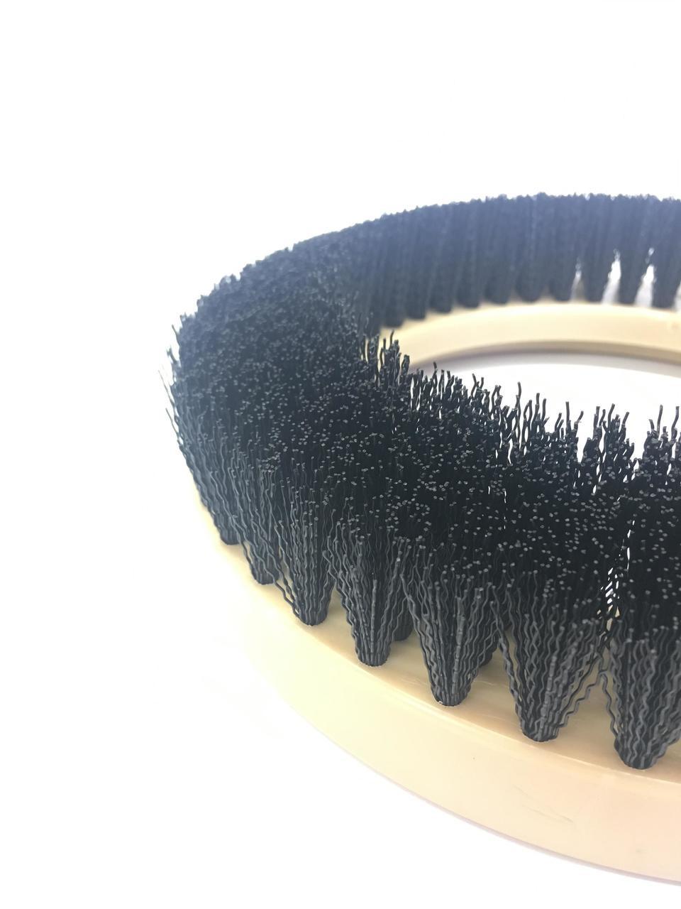 "9"" Flat Coarse Brush, Inside Bevel, Nylon, #3 brush alone"