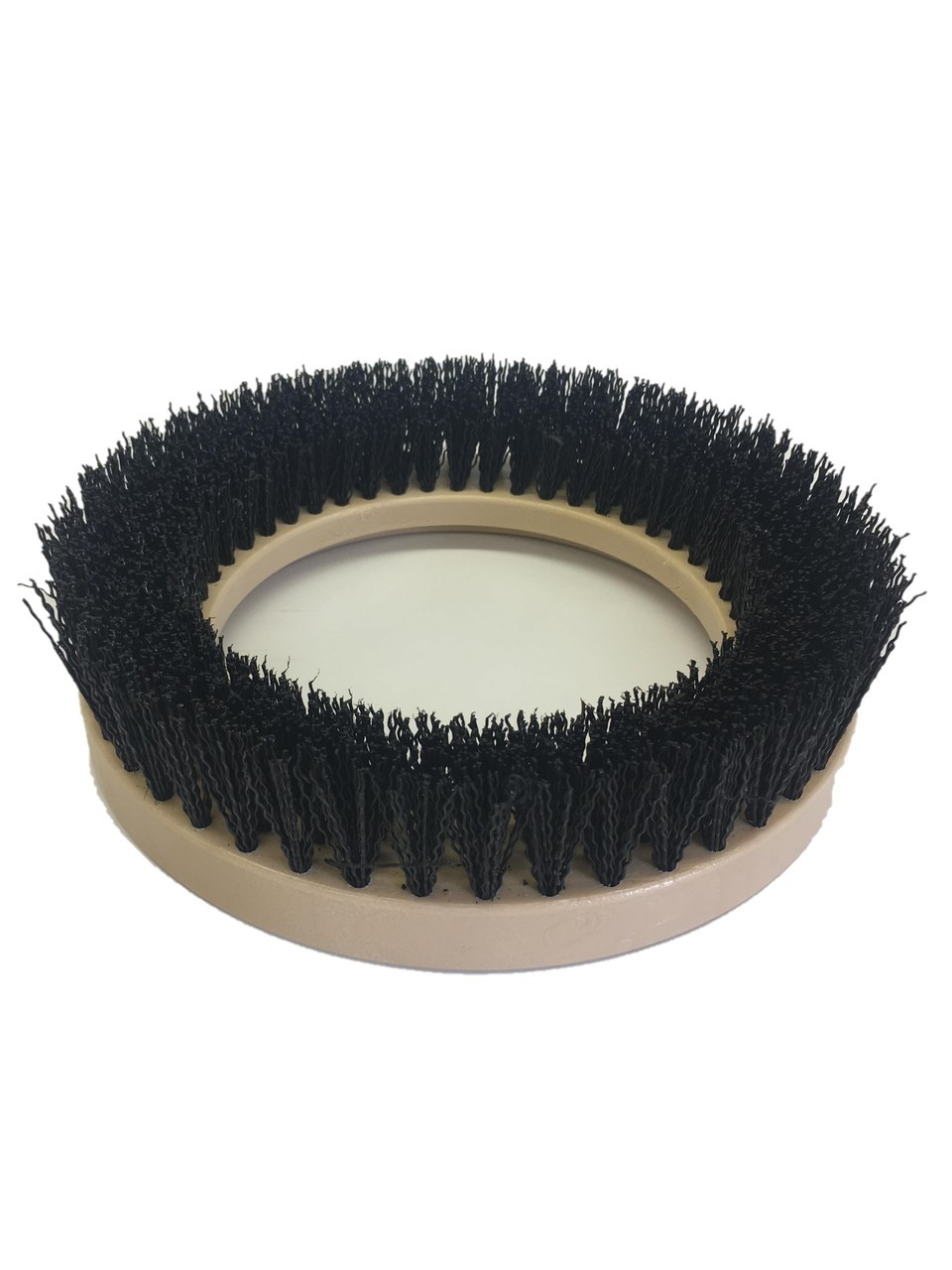 "9"" Flat Coarse Brush, Outside Bevel, PolyPro, #3 brush alone"