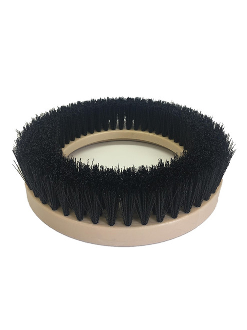 "9"" Flat Extra Coarse Brush, 1.5"" bristle, Nylon, #4 brush alone"