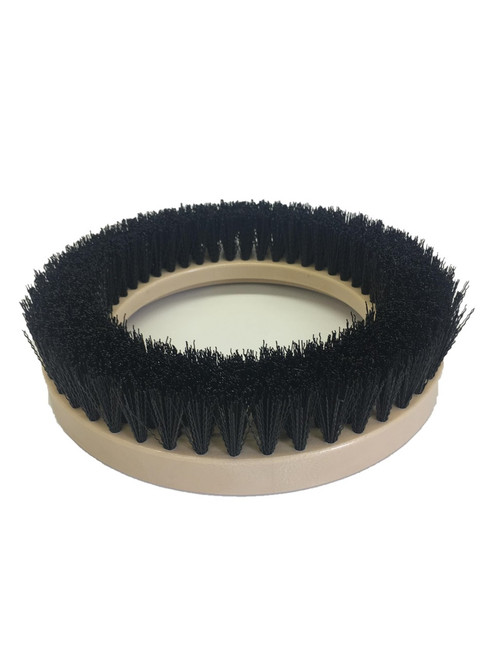 """9"""" Flat Extra Coarse Brush, 1.25"""" bristle, Nylon, #4 brush alone"""