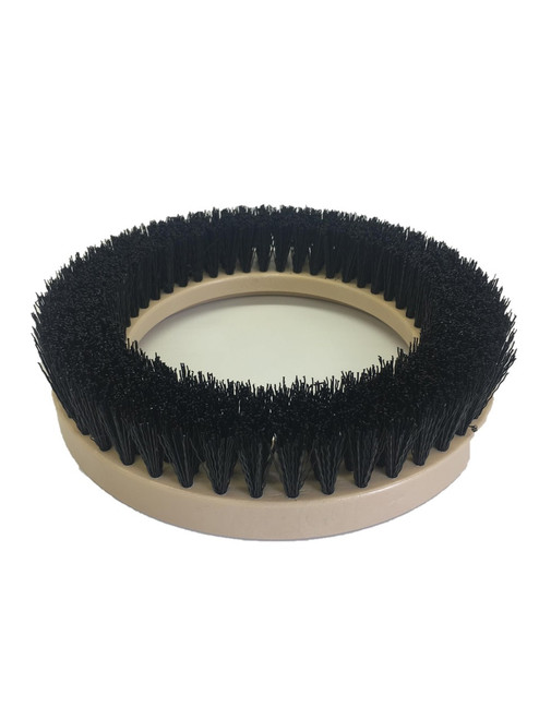"9"" Flat Coarse Brush, 1.25"" bristle, PolyPro, #3 brush alone"