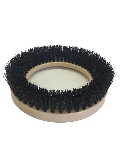 """9"""" Flat Coarse Brush, Outside Bevel, PolyPro, #3 brush alone"""