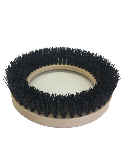 "9"" Flat Extra Coarse Brush, Outside Bevel, PolyPro, #4 brush alone"