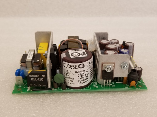 Power Supply, 5/12/24 VDC 65 W