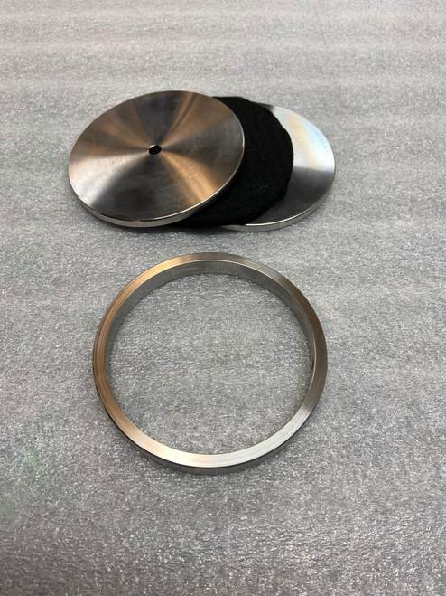 Sample spacer/holder assembly for Flash Fire Cylinder