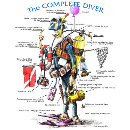 Top 10 Reasons Santa should bring me dive gear this year...
