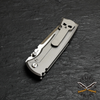 Chaves Redencion 229 Drop Point, Stone Washed Titanium