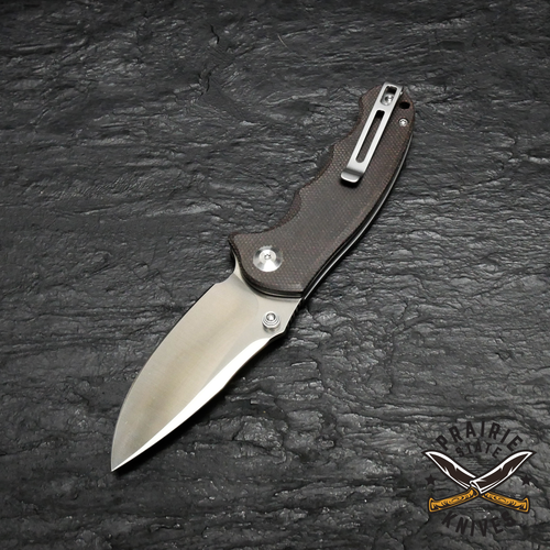 Civivi Hooligan, dark hazel micarta, D2 blade steel