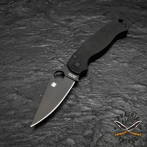 The Spyderco Paramilitary 2 is one of the most popular knives on the market today