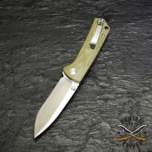 Kizer Vanguard V3 Vigor Liner Lock Knife Green G-10