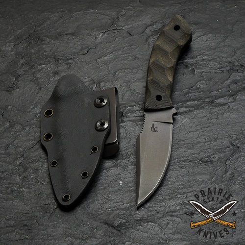 Winkler fixed blade with knife sheath