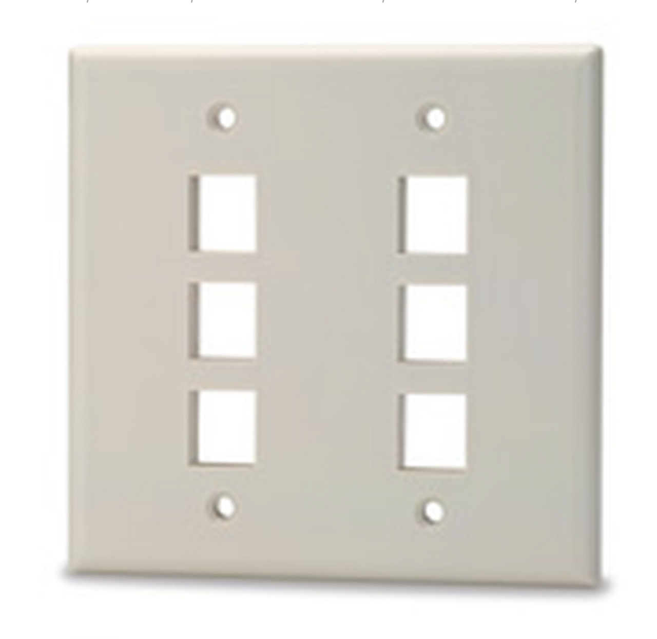 8-Port Keystone Plates