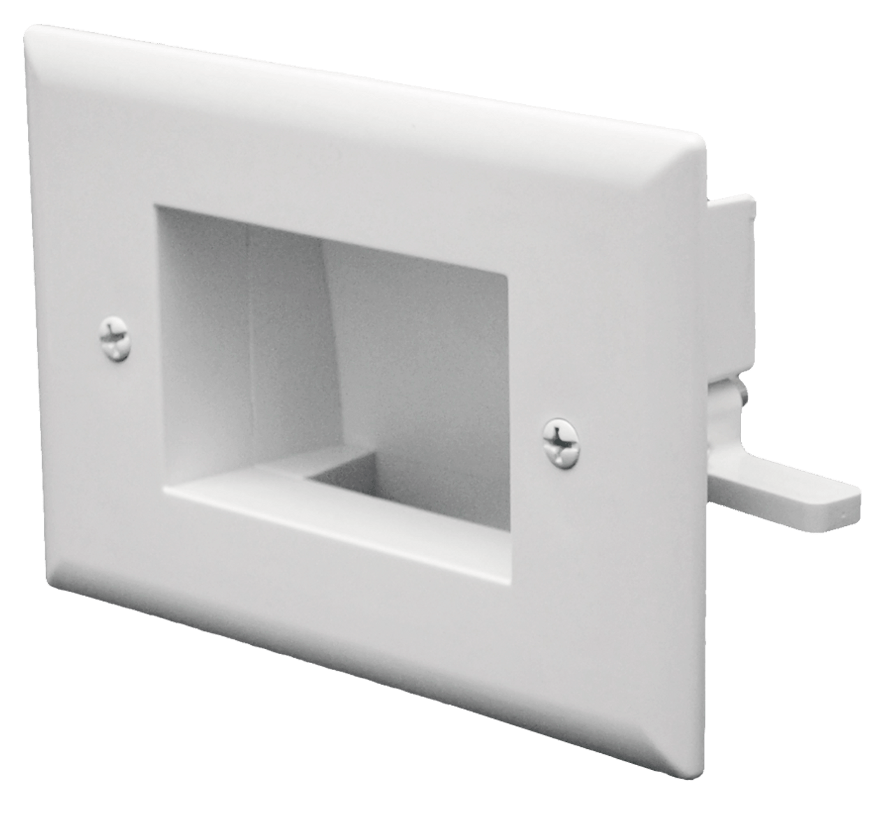 Datacomm 45-0003-LA 3 Gang Recessed Low Voltage Wall Plate Lite Almond