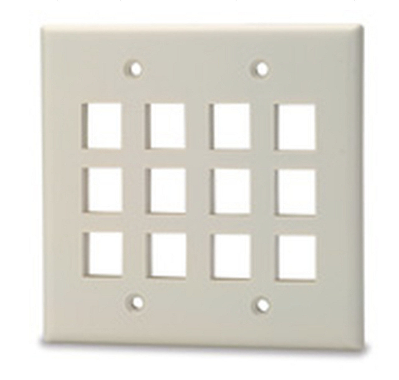 12-Port Keystone Plates