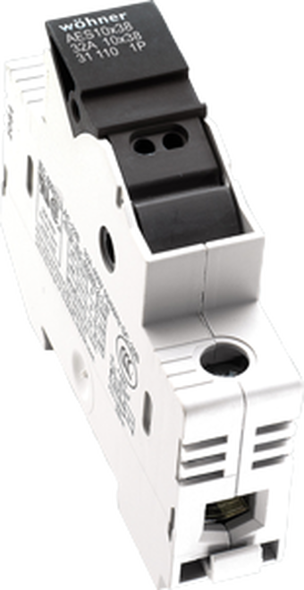 Sprecher & Schuh 31920 1-Pole DIN-rail Easy Switch Fuse Holder
