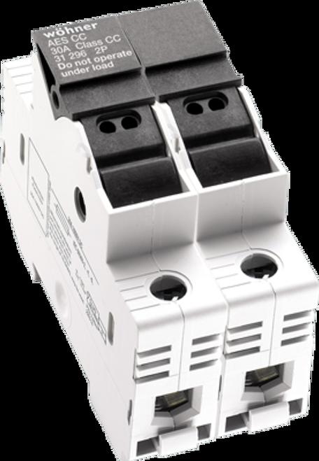 Sprecher & Schuh 31921 2-Pole DIN-rail Easy Switch Fuse Holder