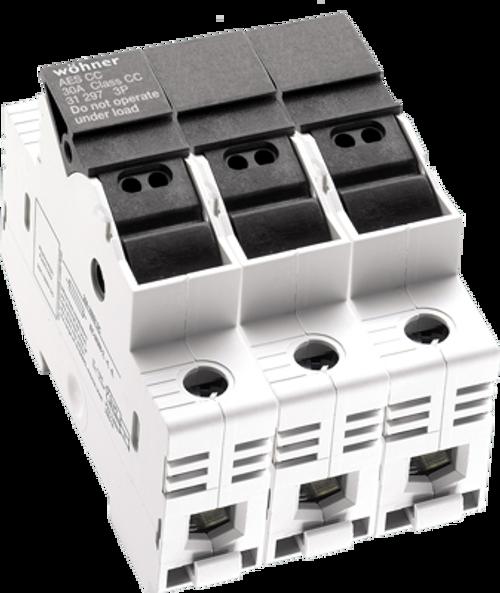 Sprecher & Schuh 31922 3-Pole DIN-rail Easy Switch Fuse Holder