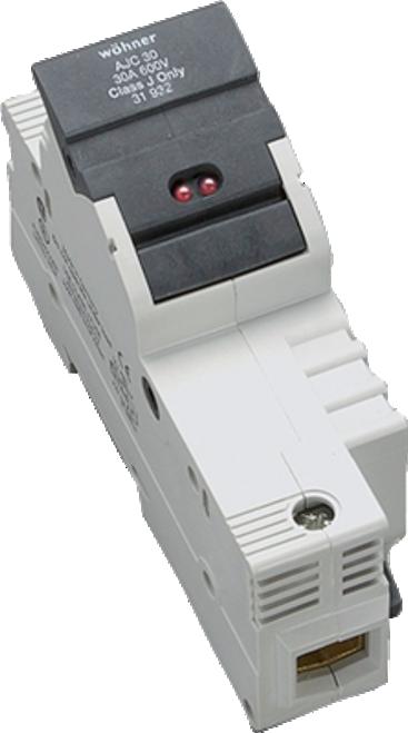 Sprecher & Schuh 31923 1-Pole DIN-rail Easy Switch LED Fuse Holder