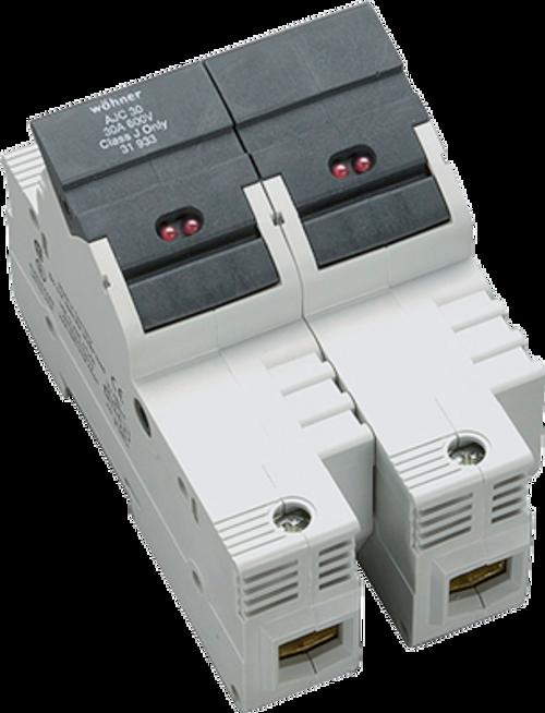 Sprecher & Schuh 31924 2-Pole DIN-rail Easy Switch LED Fuse Holder