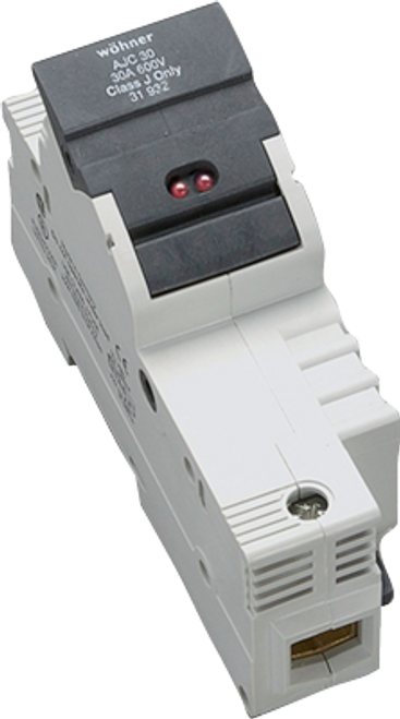 Sprecher & Schuh 31929 1-Pole DIN-rail Easy Switch LED Fuse Holder
