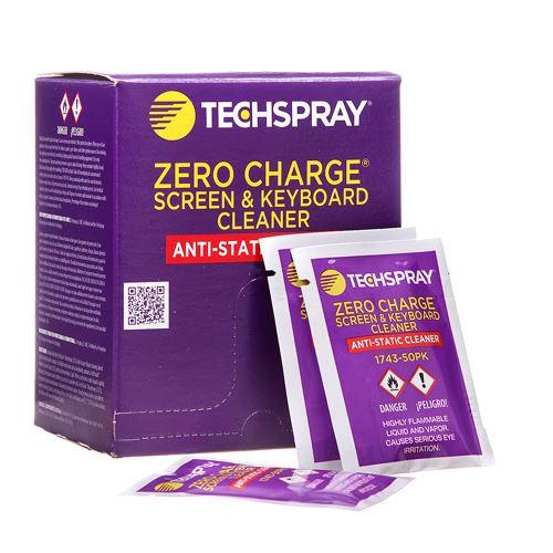 TechSpray 1743-50PK 50 Screen & Keyboard Cleaner Wipes