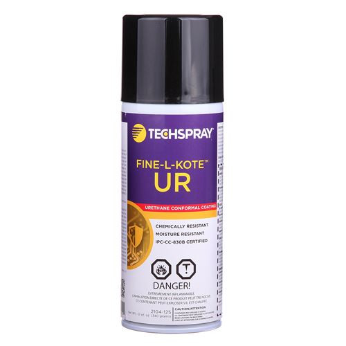 TechSpray 2104-12S 12 oz. Fine-L-Kote UR Urethane Conformal Coating