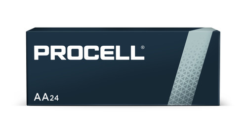 Duracell Procell PC1500 AA Alkaline Batteries, Box of 24