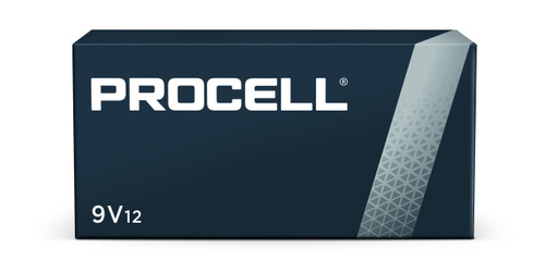 Duracell Procell PC1604 9V Alkaline Batteries, Box of 12