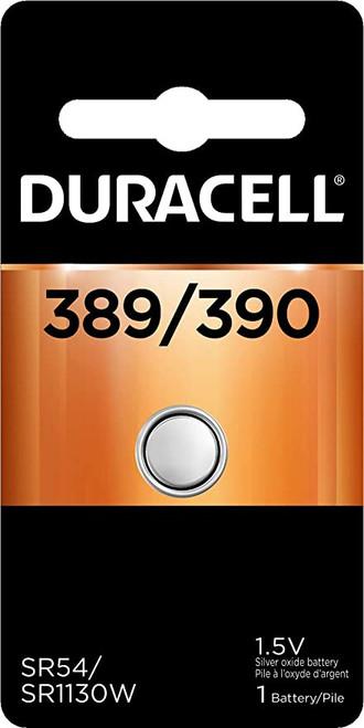 Duracell 389/390 Silver Oxide Button Battery