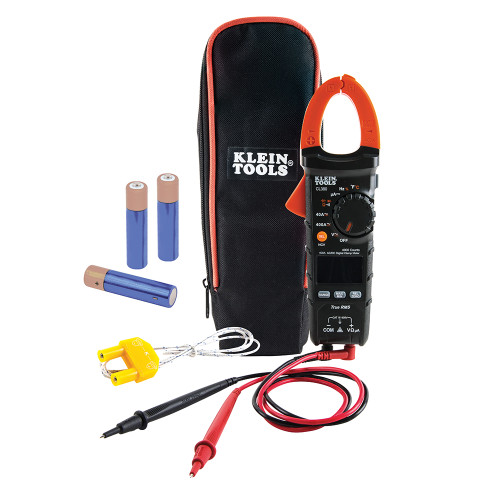 Klein CL380 400A Auto-Ranging AC/DC Clamp Meter